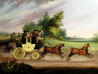 Regency Stage coach