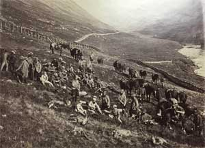 Walter at a deer hunt in the Scottish Highlands (1)