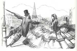 Pavement politesse 1850's