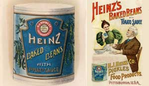 Canned food, proprietary brands