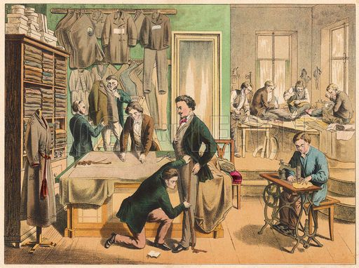 Tailor's workshop