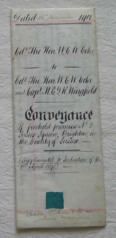 Conveyance 1901