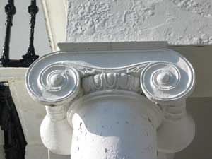 Doric capital at No 13 Sussex Square