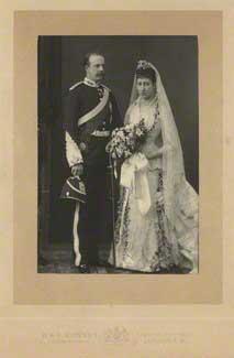 The Duke of Fife and Princess Louise