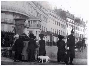 Edward VII in Lewes Crescent