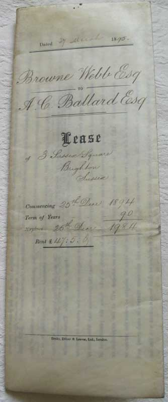 Lease 1895