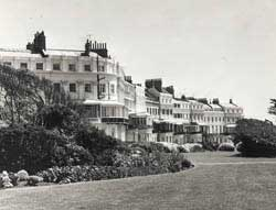 Lewes Crescent from James Gray Collection. c.Regency Society