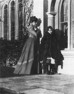 Lady Victoria and her daughter Vita Sackville West