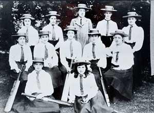 St Mary's Hall cricket team